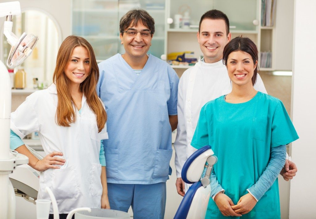 dentists and their assistants