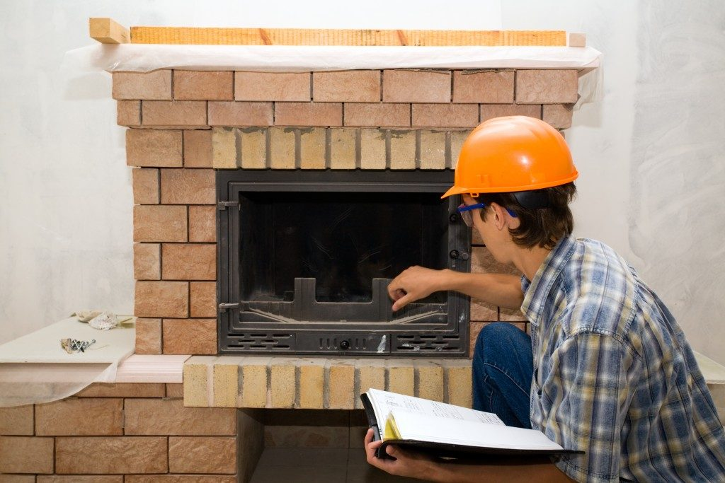 maintenance of gas fireplace