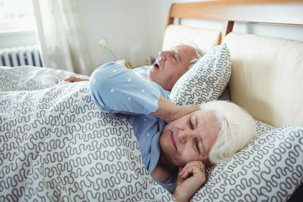 old snoring