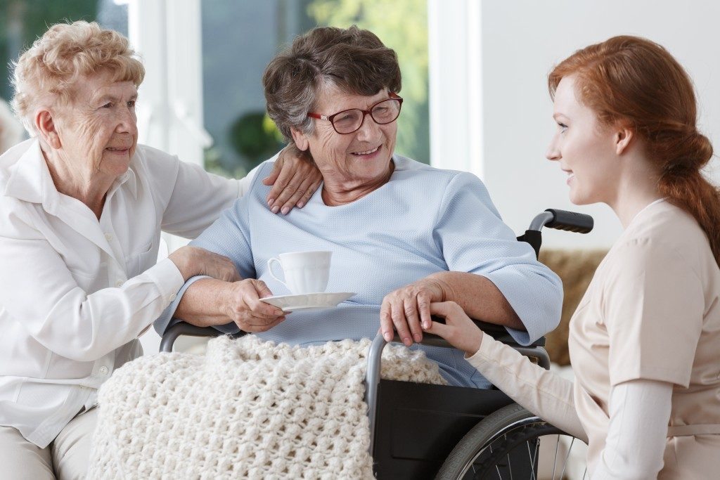 grandmothers with Alzheimer's Disease