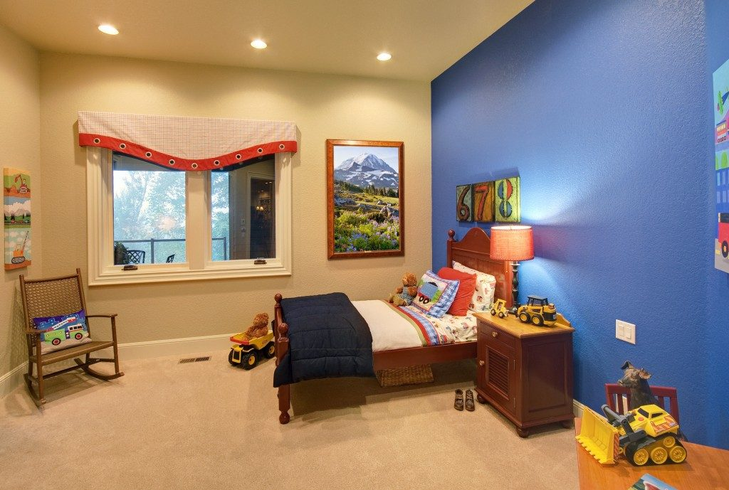 kids bedroom space