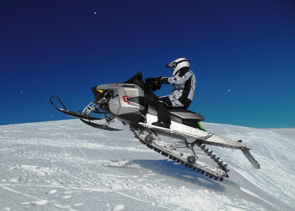snowmobile athlete