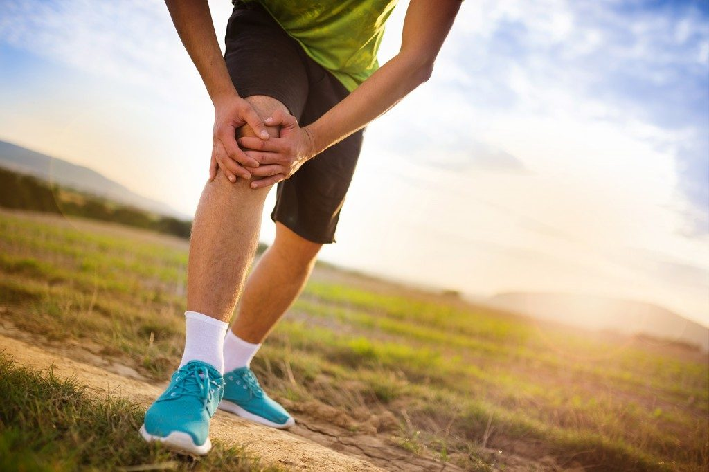 Runner leg and muscle pain