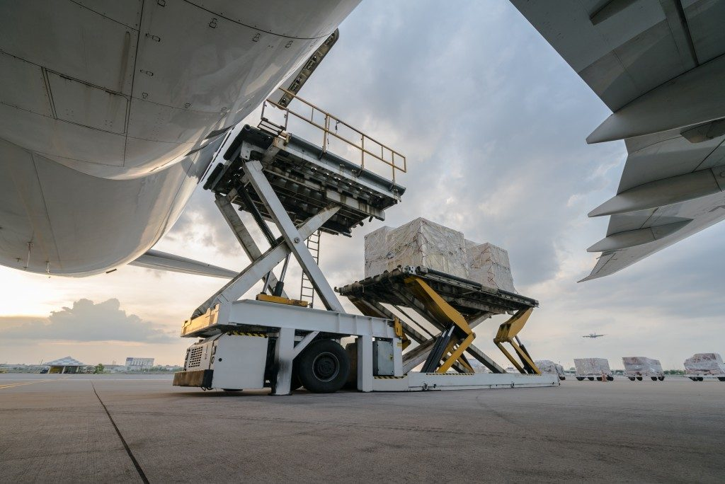 Air cargo loading system