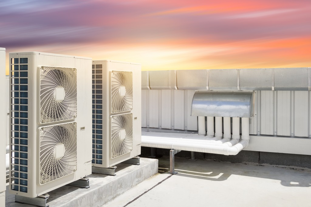 HVAC in rooftop