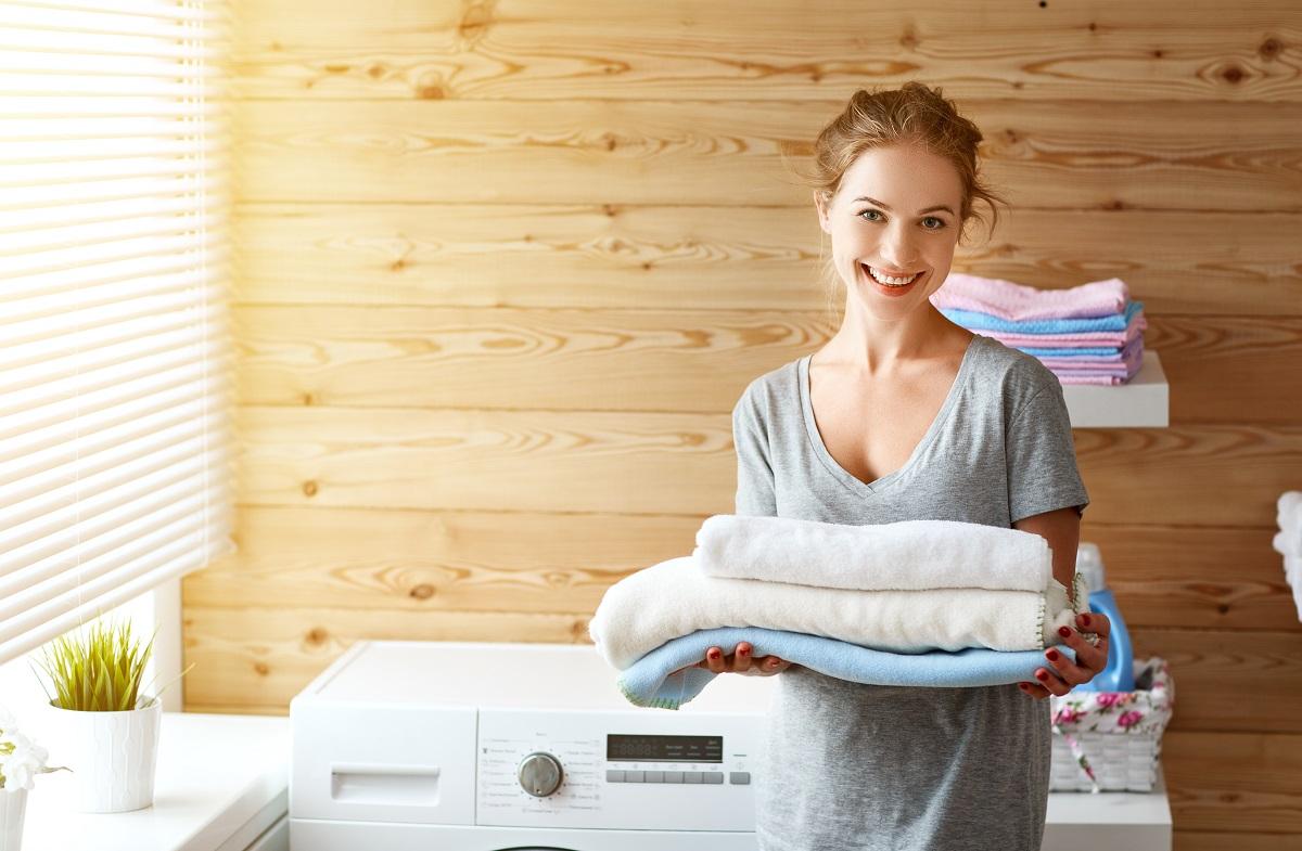 getting fresh laundry