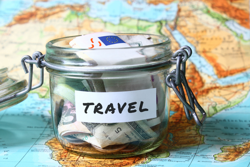 saving up for travel